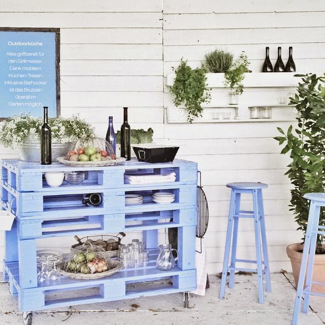 DIY pallet furniture ideas 40 projects that you havent seen : diy pallet furniture ideas patio garden mobile bar outdoor kitchen from diy-enthusiasts.com size 640 x 640 jpeg 92kB