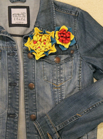DIY summer ideas craft-project-denim-jacket