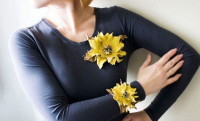 diy-summer-ideas-crafts-projects-outfit-leather-flowers