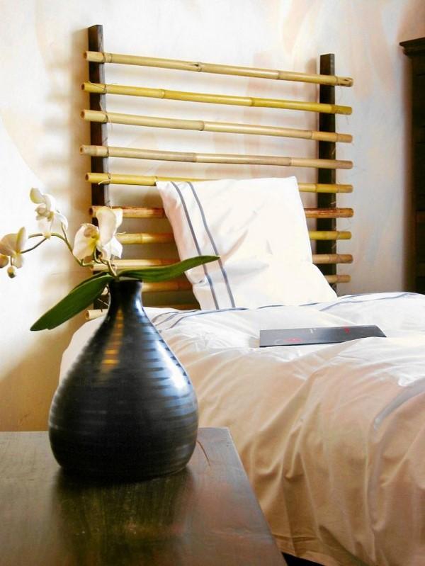 bamboo sticks african style bedroom idea 5 diy headboard ideas