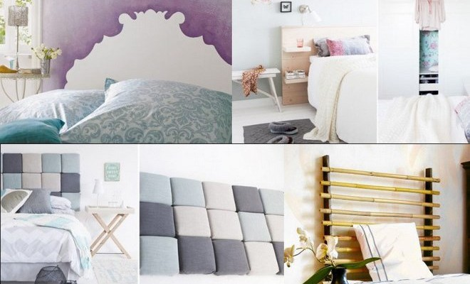 DIY Home. 5 DIY headboard ideas  Easy ...