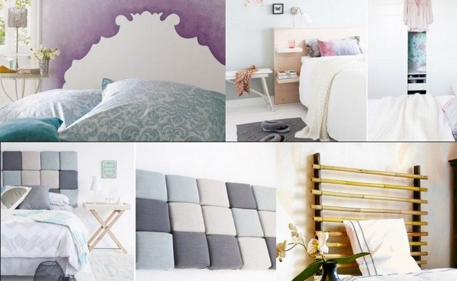 5 diy headboard ideas tutorials and designs for your bed for Simple headboard design