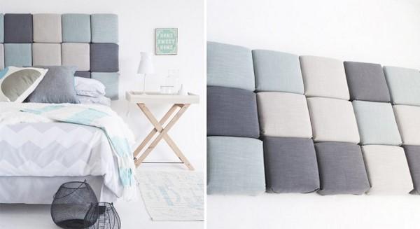 Diy Headboard Ideas Fabric Interior Homemade Bed Decoration