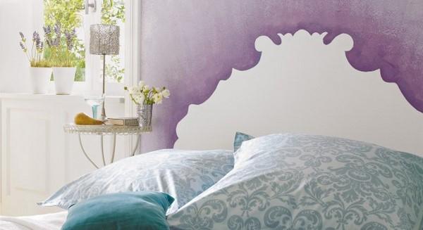 retro royal style elements bedroom decoration diy headboard ideas