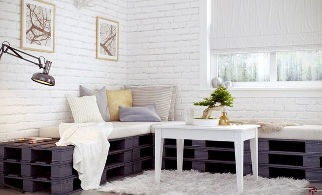 Recycle Chic Make Modern Furniture From Wood Pallets