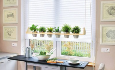 diy kitchen herb garden how to make a hanging container - Hanging Herb Garden