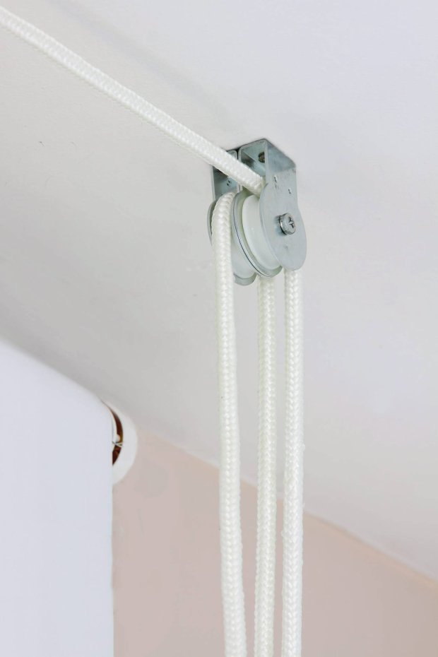 diy hanging herb garden pulleys ceiling attachment