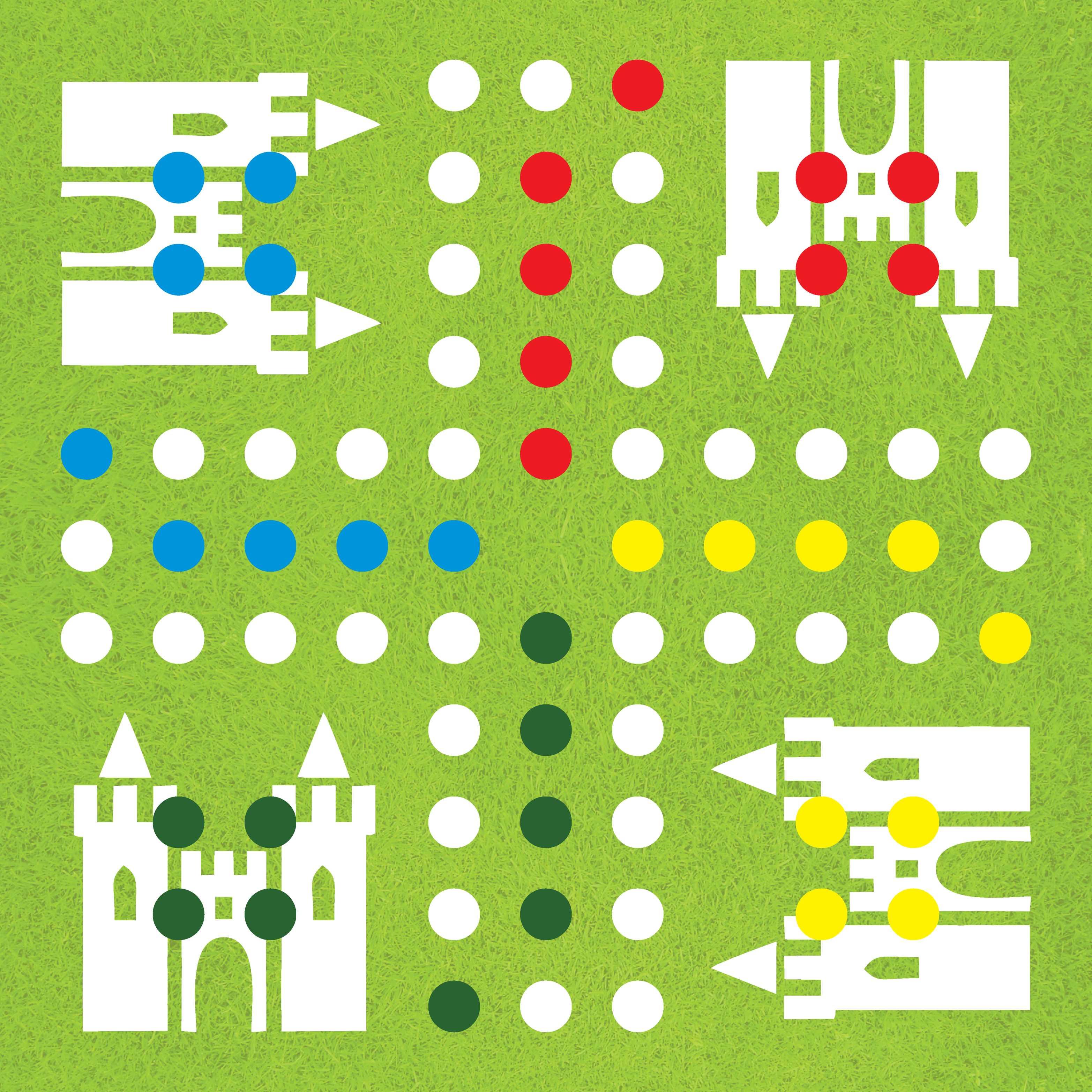 homemade games for kids diy ludo board game. Black Bedroom Furniture Sets. Home Design Ideas