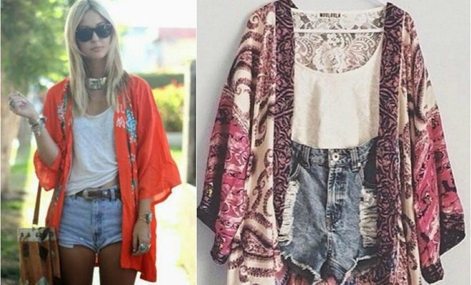 DIY summer clothes ideas: How to make a kimono jacket