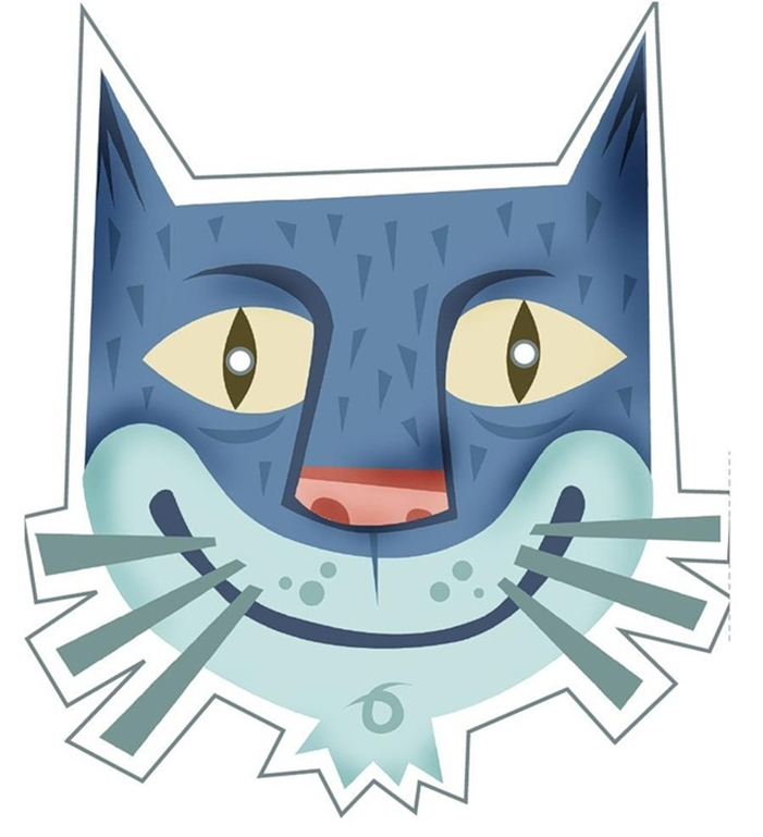 kids-face-masks-template-animals-blue-cat-print