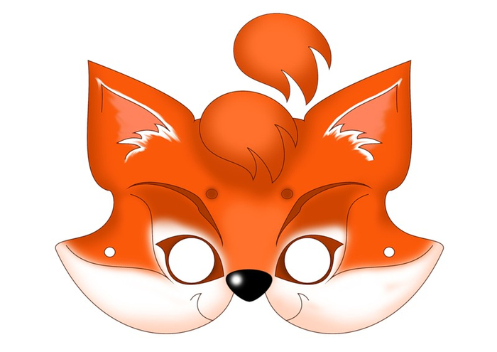 kids-face-masks-template-animals-foxy