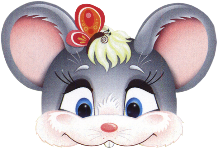 kids-face-masks-template-animals-grey-mouse