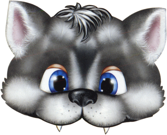 kids-face-masks-templates-halloween-animals-wolf