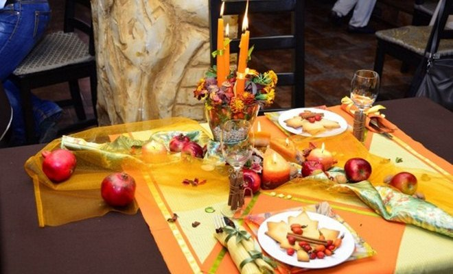 Thanksgiving Table Decorations And Diy Centerpiece Ideas: thanksgiving table decorations homemade