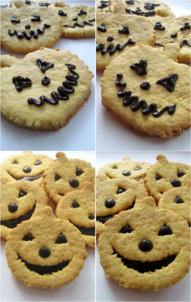 halloween-baking-ideas-pumpkin-jack-o-lantern-cookies