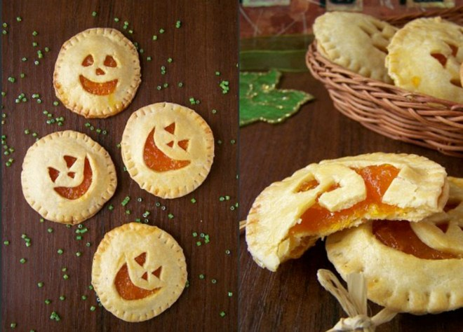 Halloween baking ideas recipes-treats-jack-o-lanterns-pop-tarts