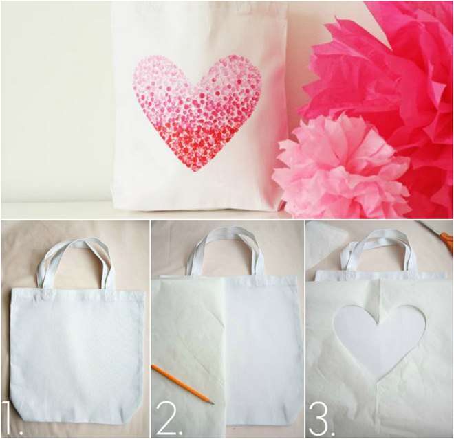 DIY Valentine\'s gifts and crafts to decorate your home and table -