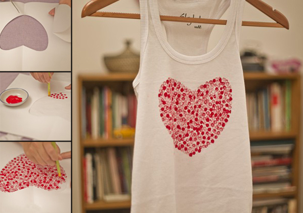 diy-valentines-gifts-white-top-heart-print-fabric-paint-pencil-dots