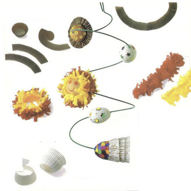Easter-egg-crafts-wire-spiral-planets-muffin-form-comet