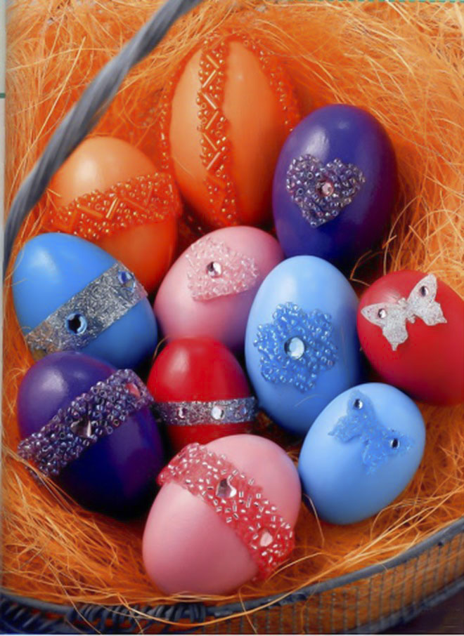 Easter-egg-decorating-beads-rings-heart-flower-forms
