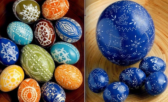 47 easy easter egg crafts and egg decorating ideas for kids negle Choice Image