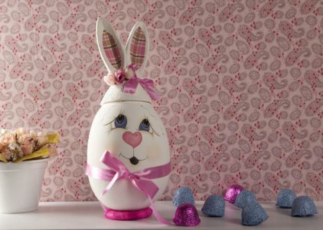 diy-easter-craft-ideas-styrofoam-egg-cute-face-ears