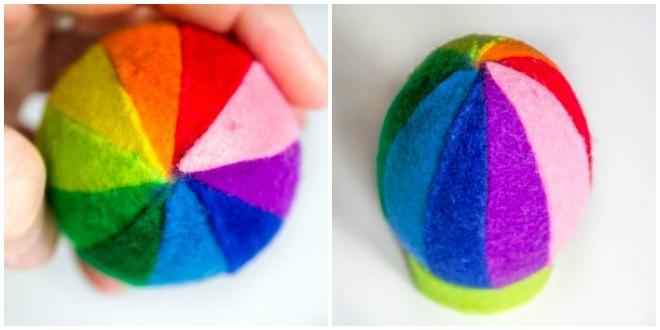 diy-easter-craft-ideas-styrofoam-egg-glue-felt-strips