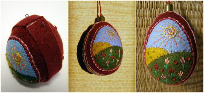 10 diy easter craft ideas using styrofoam eggs for adults diy easter craft ideas styrofoam egg wrapping felt negle Image collections