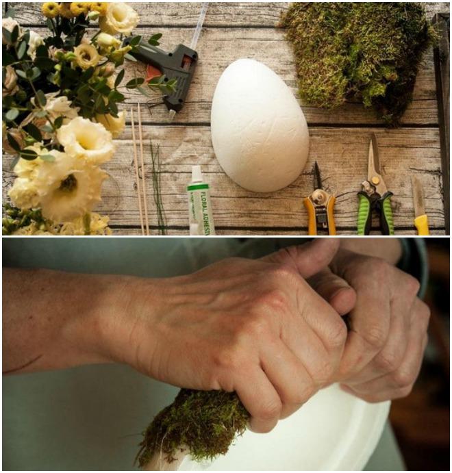 easter-arrangement-egg-floral-foam-styrofoam-eggs-cover-moss