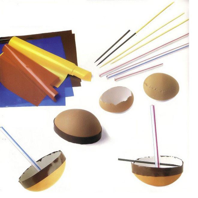 easter egg crafts -sailor-boat-drinking-straws-paper