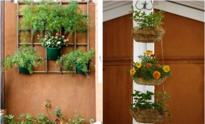 How To Build A Pallet Vertical Garden And A DIY Plastic Wall Garden - Vertical garden diy ideas