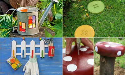Garden Decor Ideas diy garden decor ideas - 6 projects for yard and patio