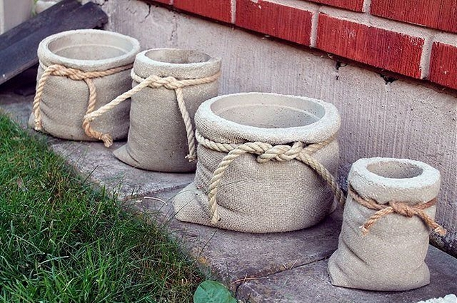 diy-garden-projects-flower-pot-bags-jute-burlap-rope