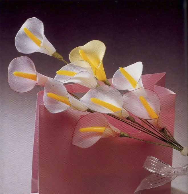 flower-craft-ideas-calla-bouquet-artificial-flowers