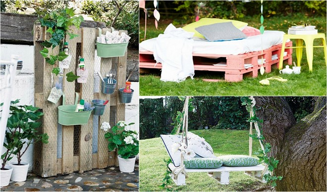 outdoor wood pallet furniture 3 diy pallet projects - Wood Pallet Projects