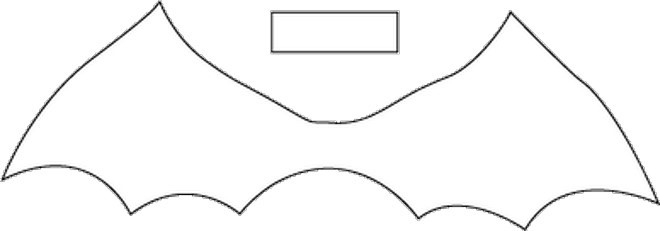 Diy Halloween Costumes Bat Bow Tie Template