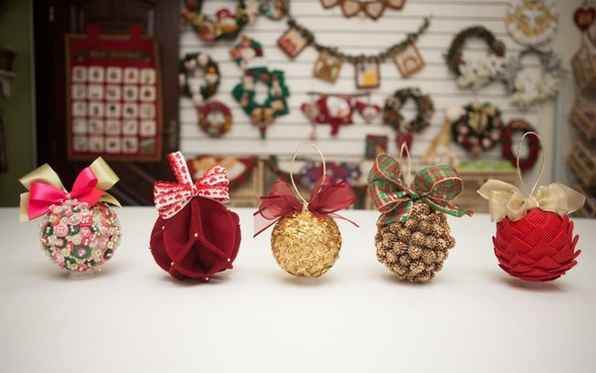 homemade christmas tree ornaments diy ideas styrofoam balls