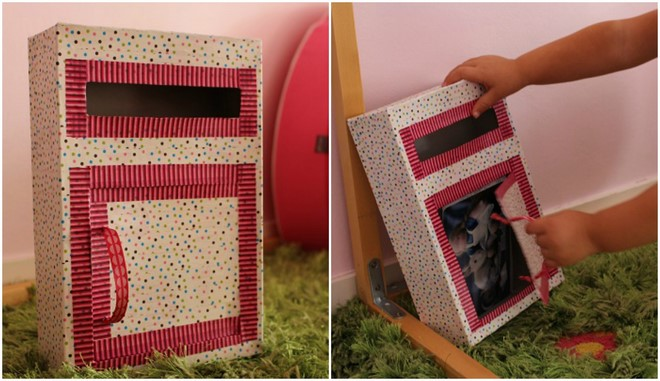 diy valentine boxes for girls cereal box washi tape