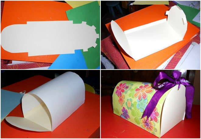 mailbox valentines day boxes step by step tutorial