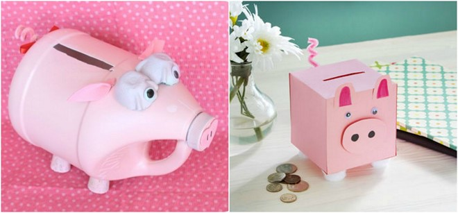 milk jug diy valentine boxes diy piggy mailbox