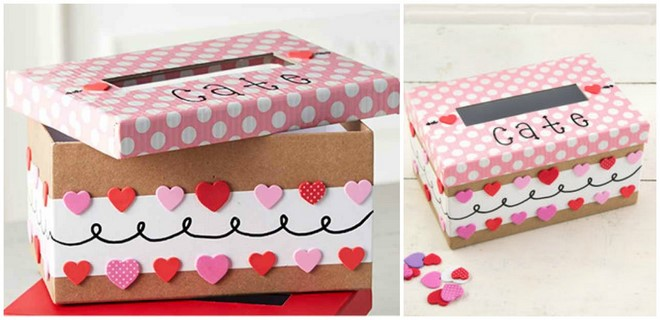 Decorate Shoe Box Awesome 15 Easy To Make Diy Valentine Boxes  Cute Ideas For Boys And Girls Decorating Design