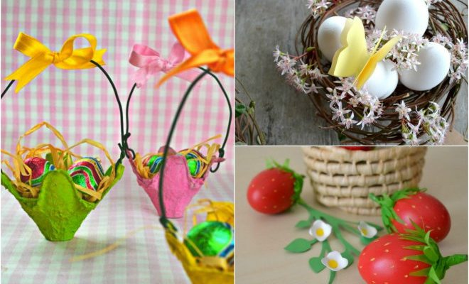 7 Easy Easter Craft Ideas, Small Gifts And Home