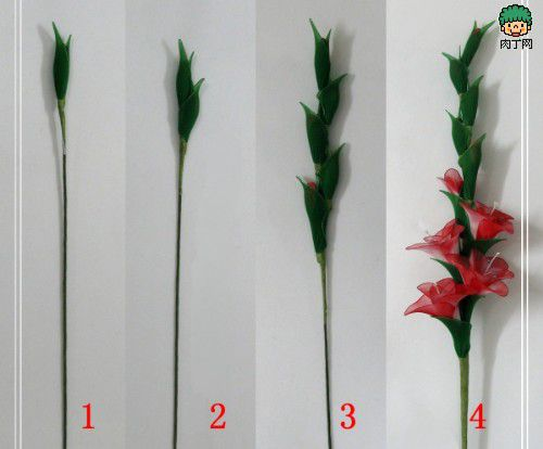 diy-gladiolus-flowers-stem-steps