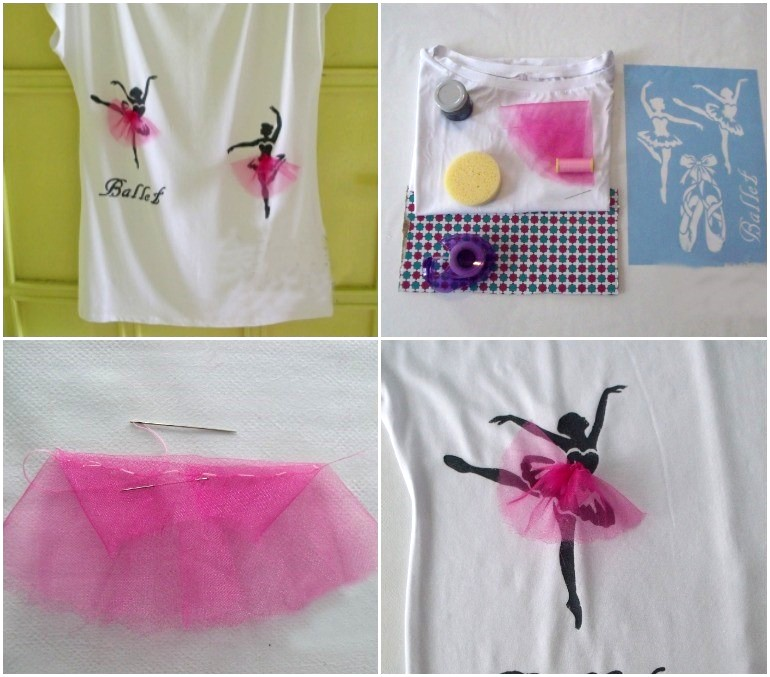 diy-t-shirt-ideas-ballerina-easy-stamping