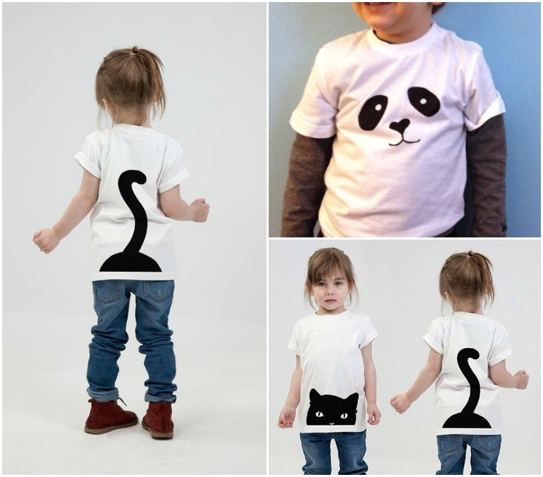 diy-t-shirt-ideas-fun-easy-black-white