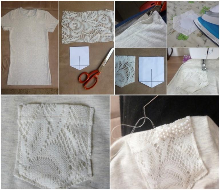 diy-t-shirt-ideas-lace-front-pocket-design