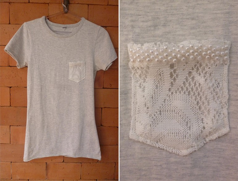 diy-t-shirt-ideas-lace-pocket-pearls