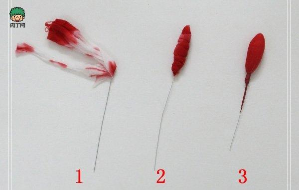 how-to-make-gladiolus-bud-wire-nylon-tights