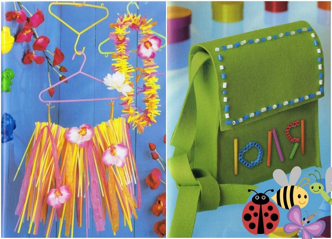 drinking-straws-crafts-toddlers-hula-skirt-felt-bag