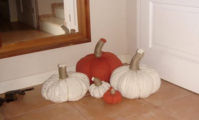 no-sew-sweater-pumpkins-fall-decor-hallway-group-white-orange